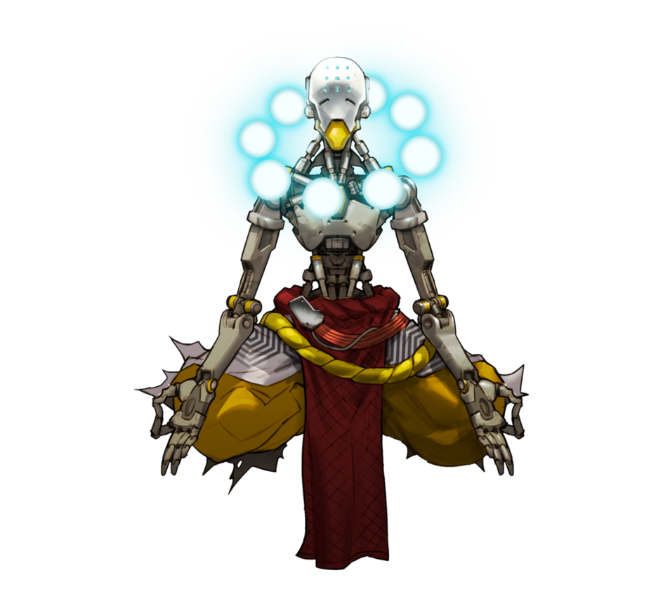 By plank on deviantart. Zenyatta overwatch png