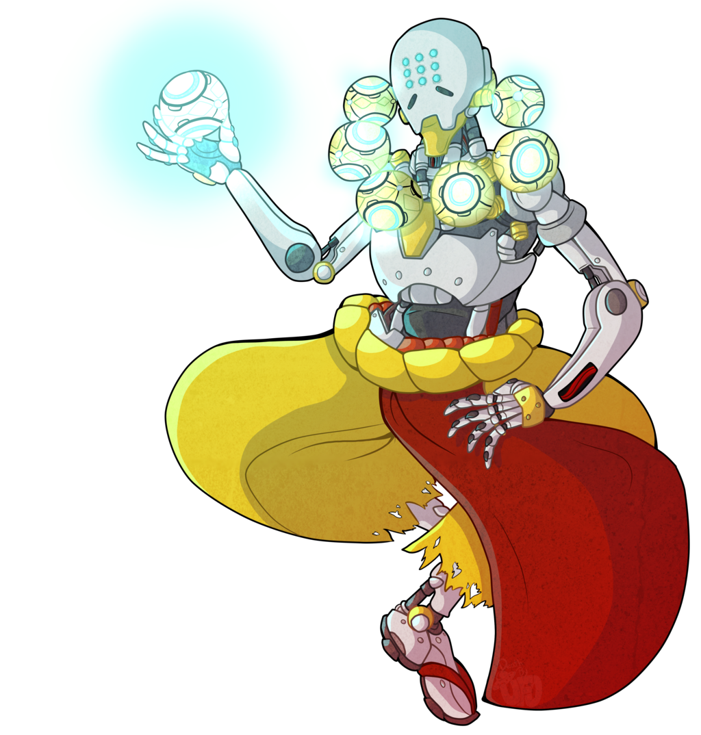 Zenyatta overwatch png. By deathbyufo on deviantart