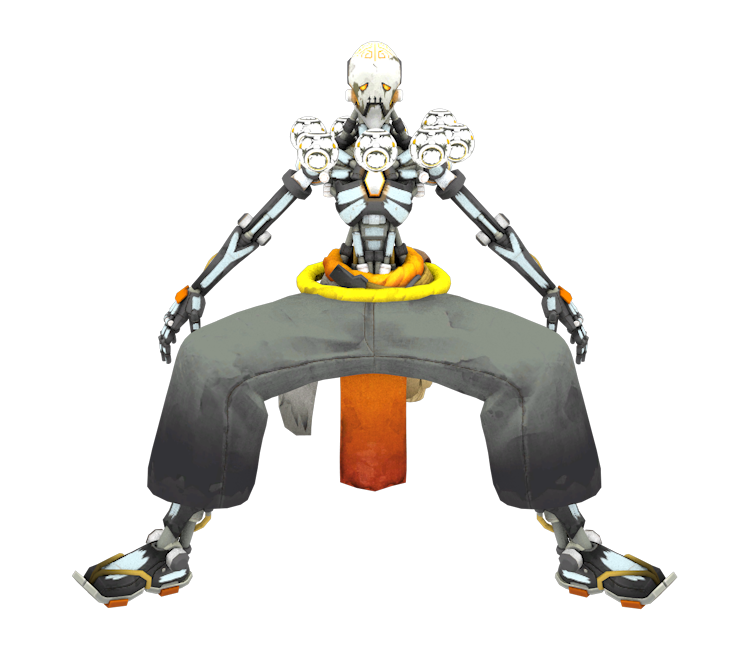 Zenyatta overwatch png. Pc computer skullyatta the