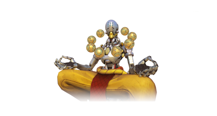 Zenyatta overwatch png. Ten ton hammer the