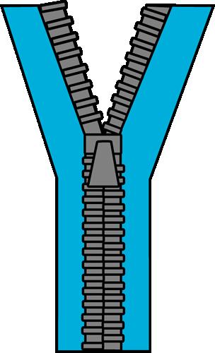 Cartoon of clip art. Zipper clipart animated