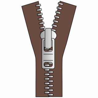 Zipper clipart brown. Free png image transparent