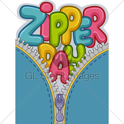 Gl stock images . Zipper clipart day