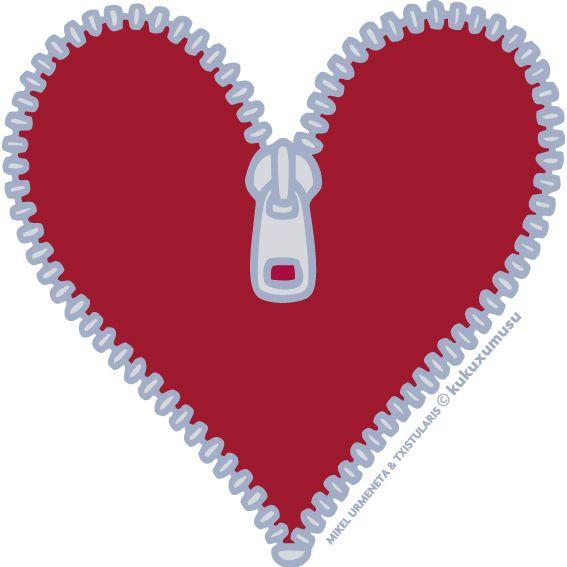 Zipper clipart day. Cute heart clip art
