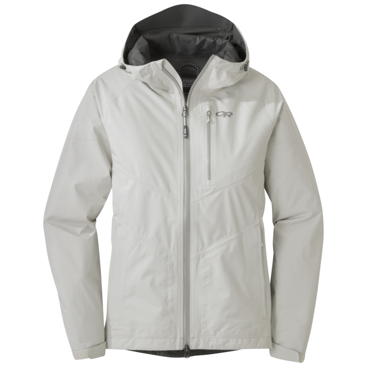 Women s aspire jacket. Zipper clipart half open