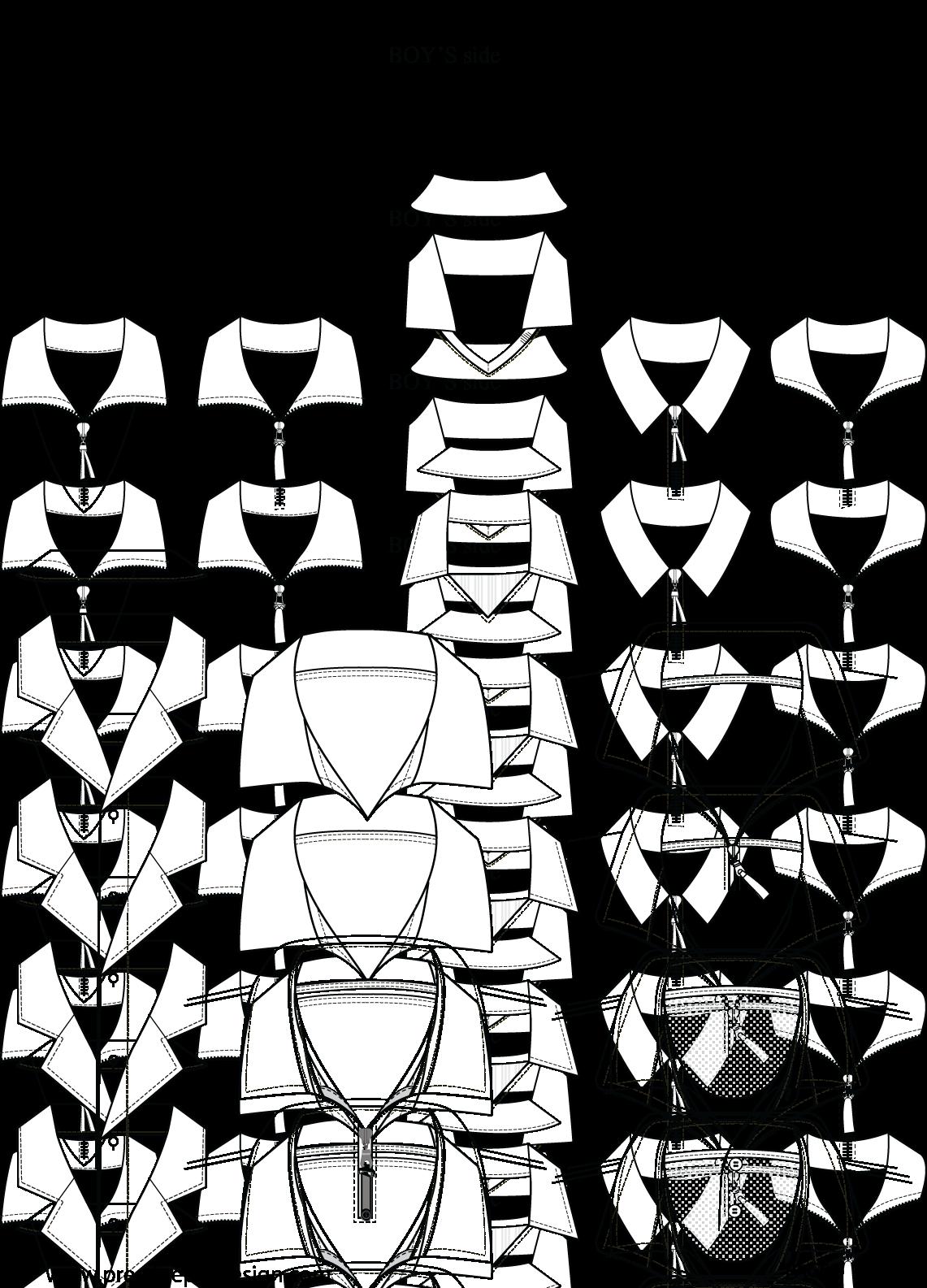 Image description flat fashion. Zipper clipart illustrator