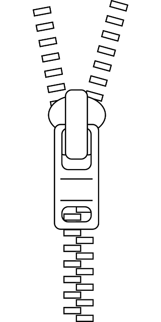 Free image on pixabay. Zipper clipart sketch