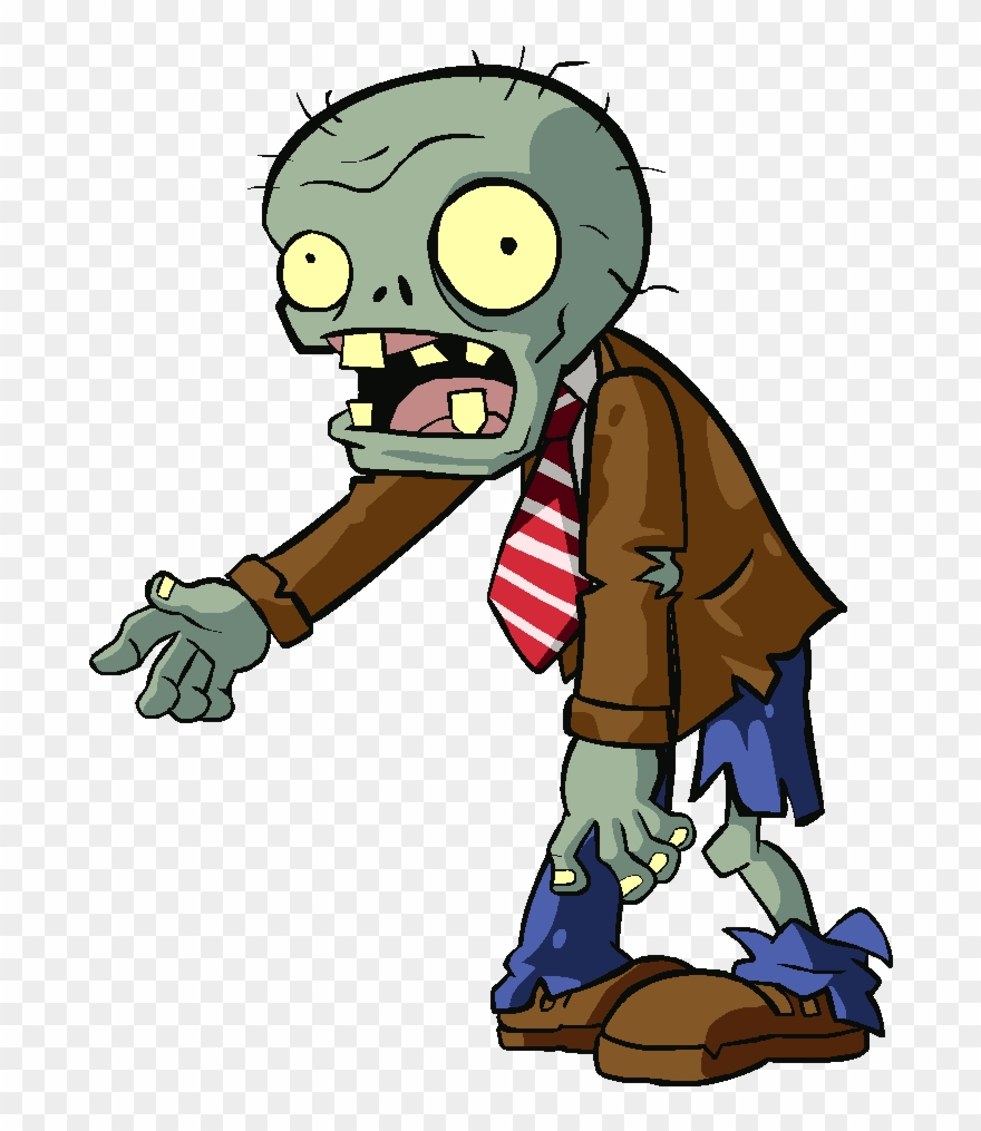 Plants clipart zombie. Ghoul vs zombies rally
