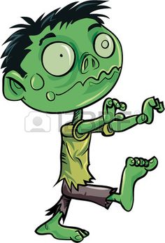 Zombie clipart. Free to use public