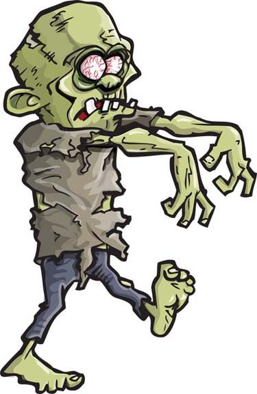 Zombie clipart. Free vectors download vector