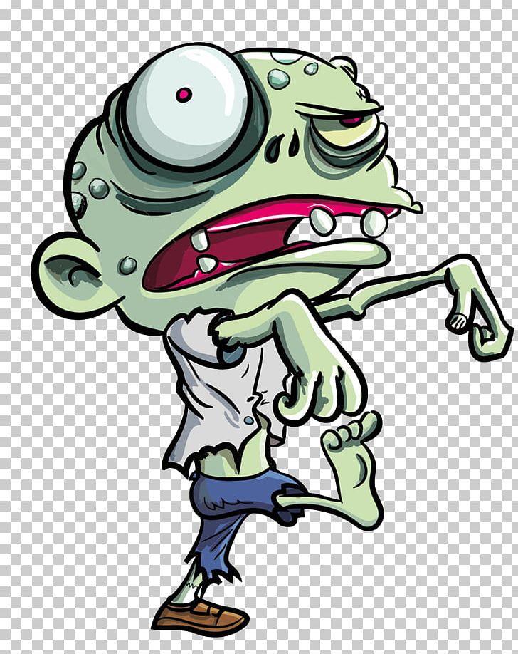 Cartoon png amphibian animation. Zombie clipart animated