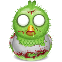 Twitter icon png image. Zombie clipart bird