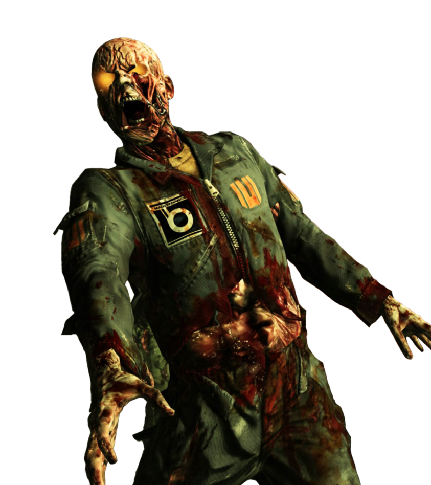 Of render by thenazizombiepro. Zombie clipart call duty