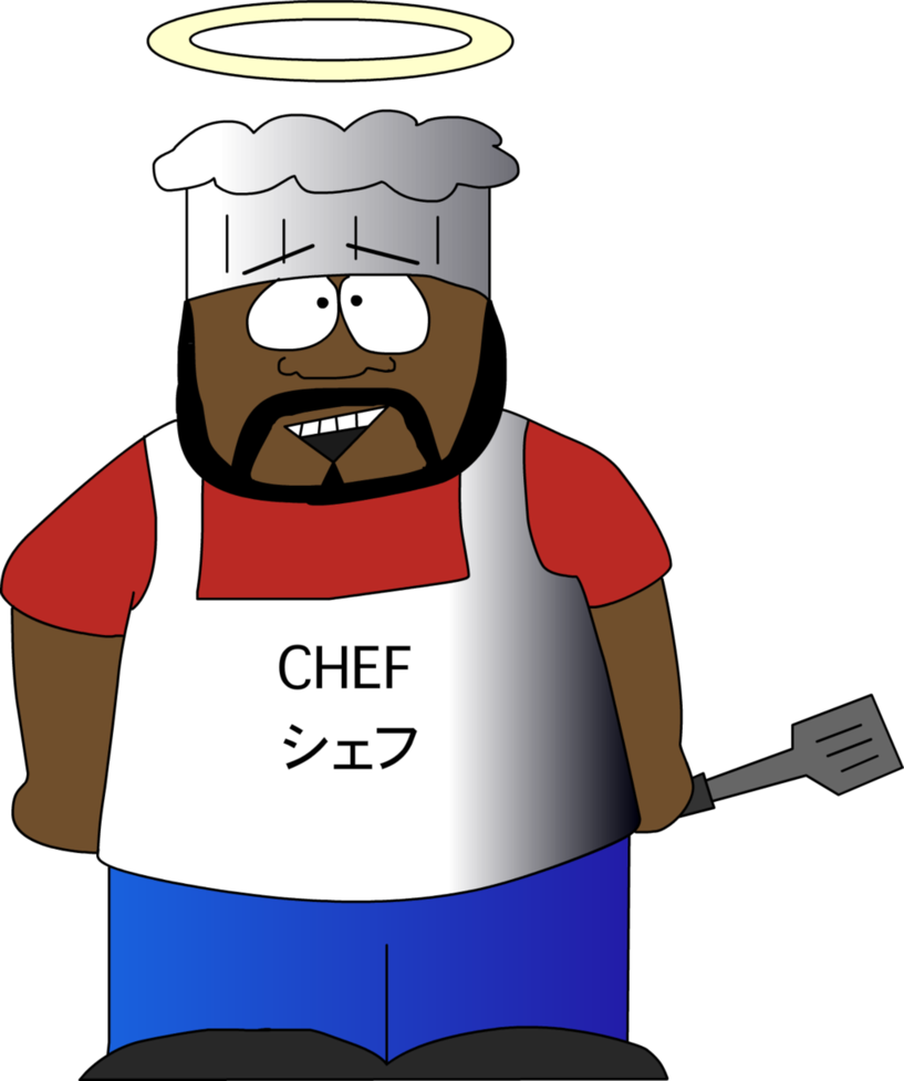 A tribute to by. Zombie clipart chef