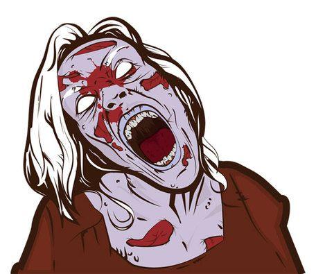 Scary eye clip art. Zombie clipart eyes