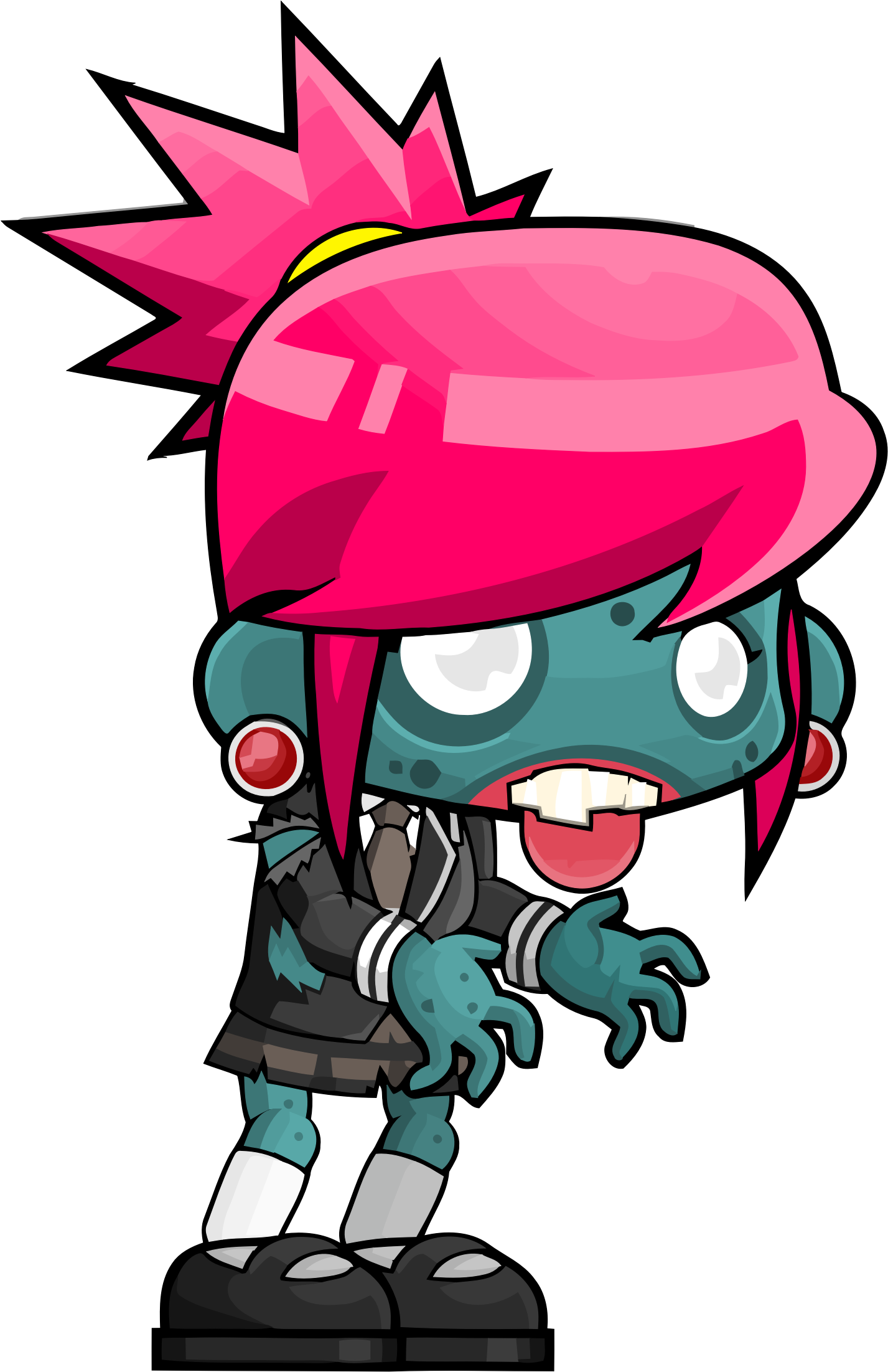 Zombie clipart female zombie. Big image png