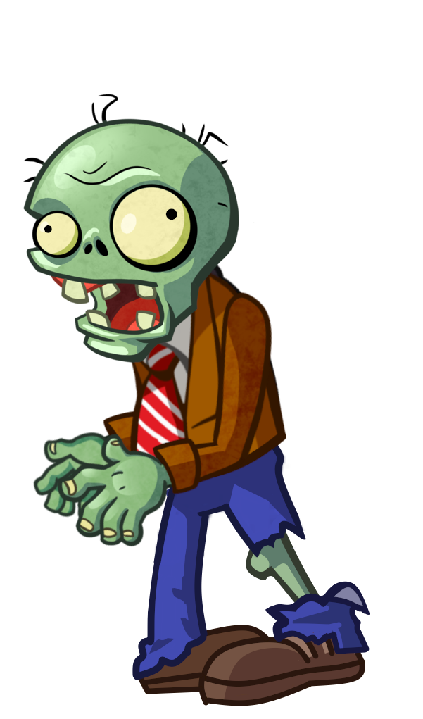 Zombie clipart finger. Plants vs zombies fighters