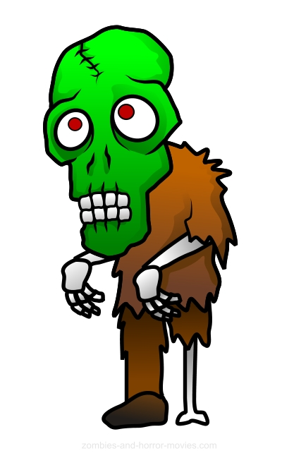 Jpg clip art library. Zombie clipart ghoul