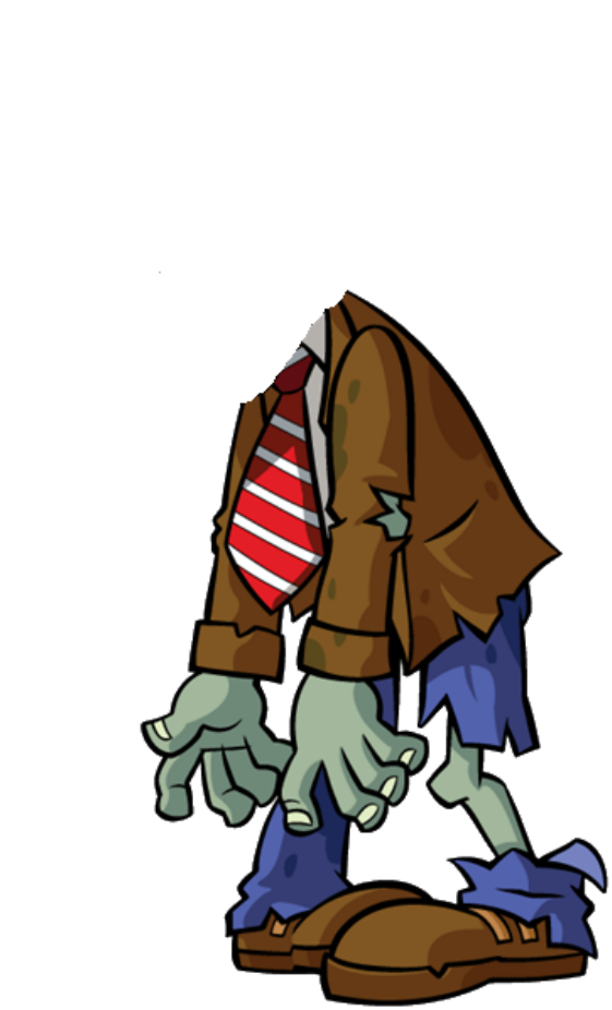 Image headless png plants. Zombie clipart ghoul
