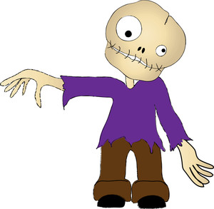 Zombie clipart ghoul. Free image best of