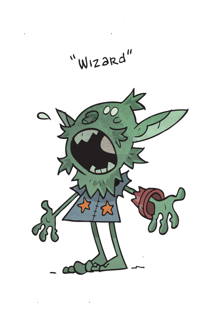 Quest a tabletop rpg. Zombie clipart goblin