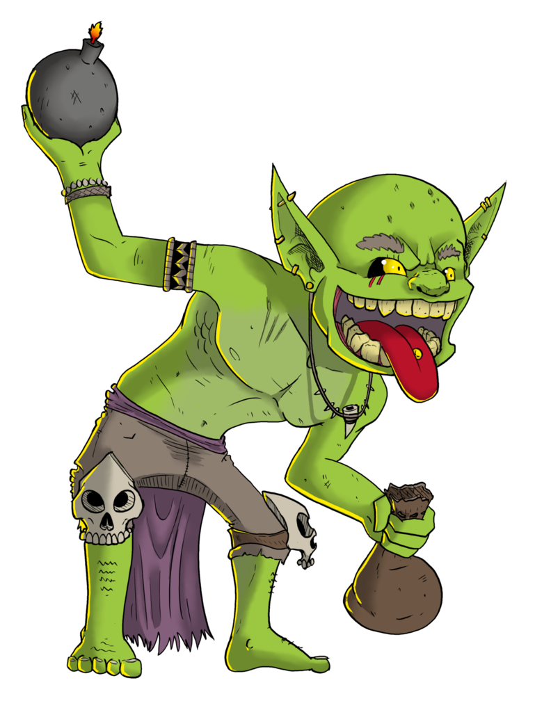 Bomber by alishavolkman on. Zombie clipart goblin