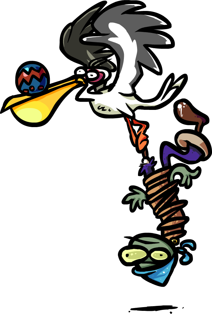 Pelican by devianjp on. Zombie clipart group zombie