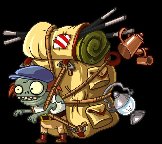 Travel traveler imp character. Zombie clipart parts