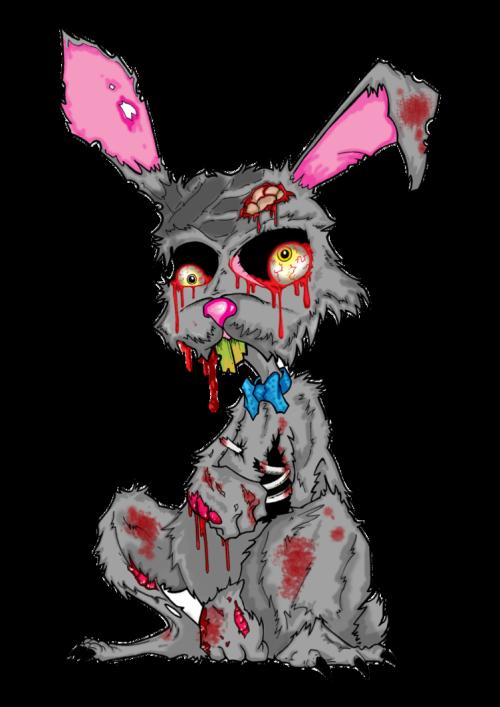 Zombie clipart rabbit. Easter bunny tumblr