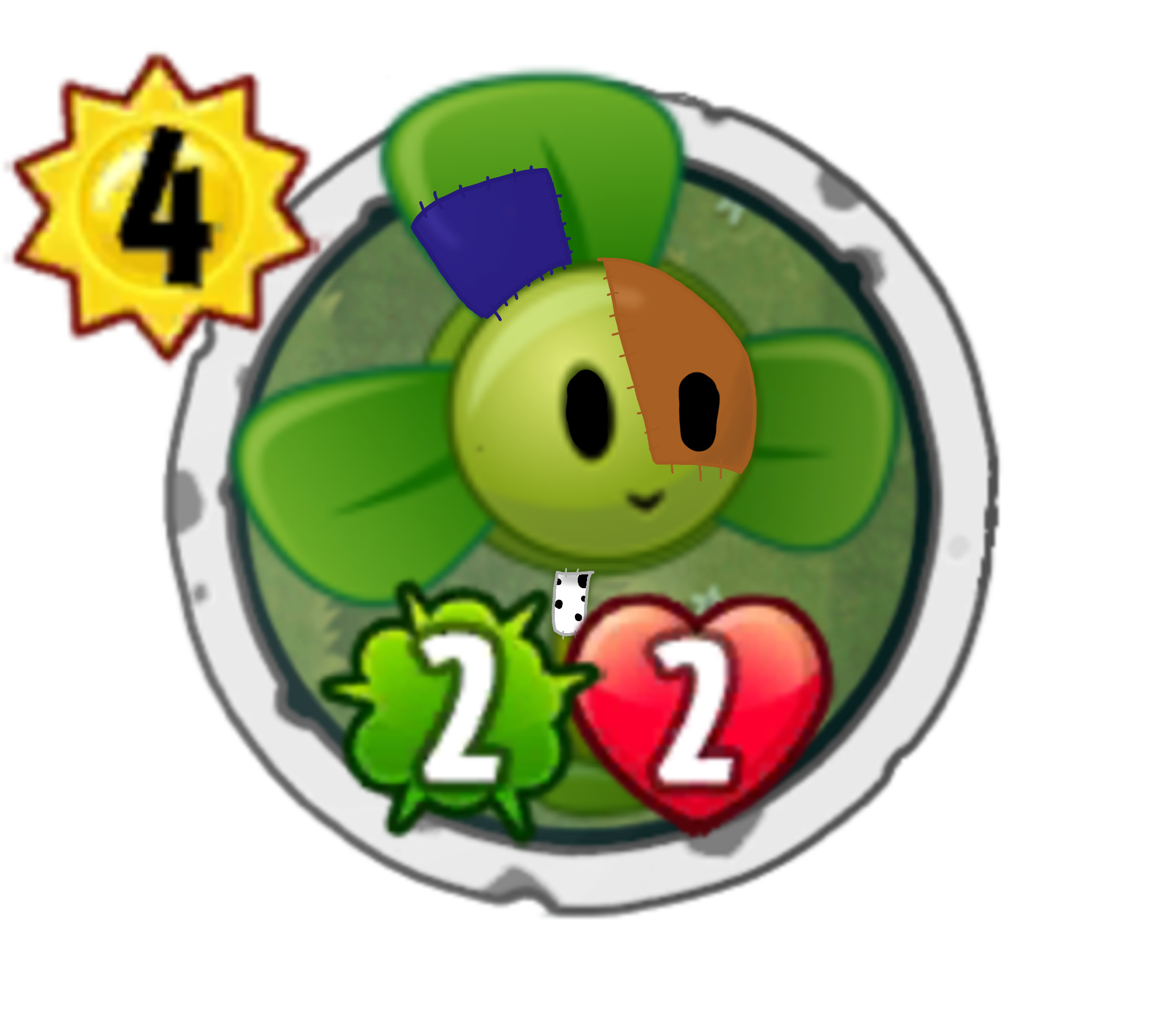 Scareclover pvzh plants vs. Zombie clipart soccer