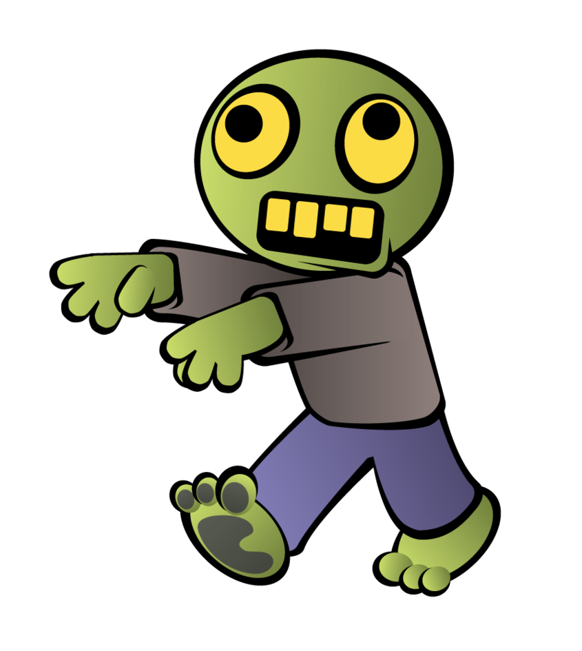 Little by alexsanlyra on. Zombie clipart soccer