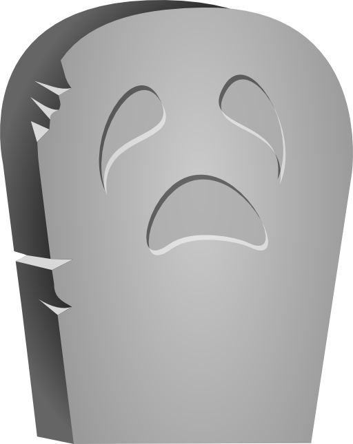 Halloween face i royalty. Zombie clipart tombstone