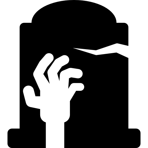 Hand icons free download. Zombie clipart tombstone
