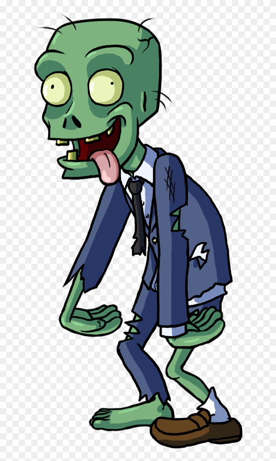Zombie clipart transparent background. Download cartoon