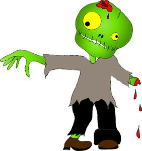 Image an walking again. Zombie clipart undead