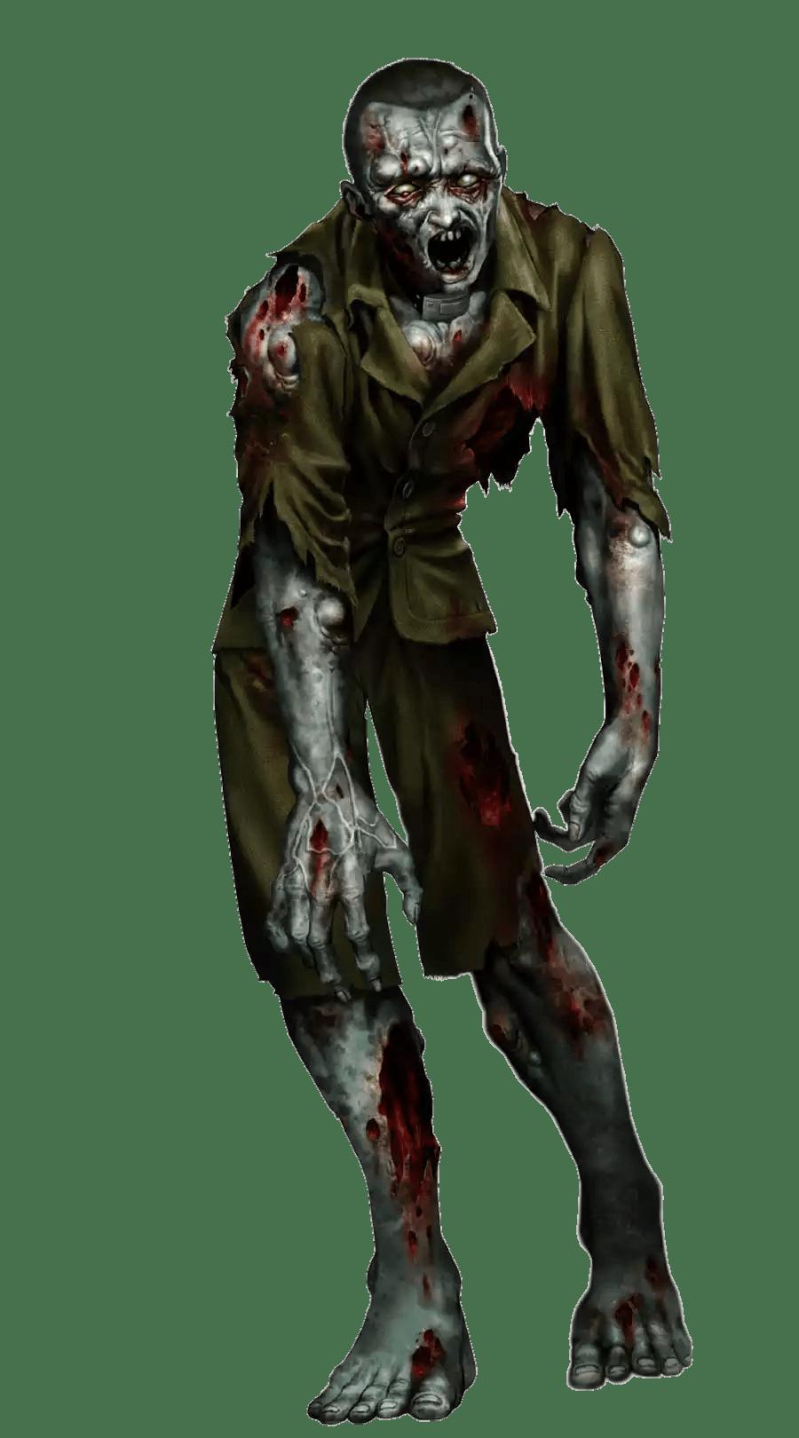 Zombie clipart werewolf. Creepy png photos