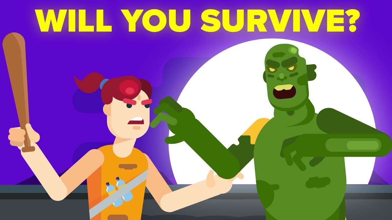 Could you survive a. Zombie clipart zombie attack