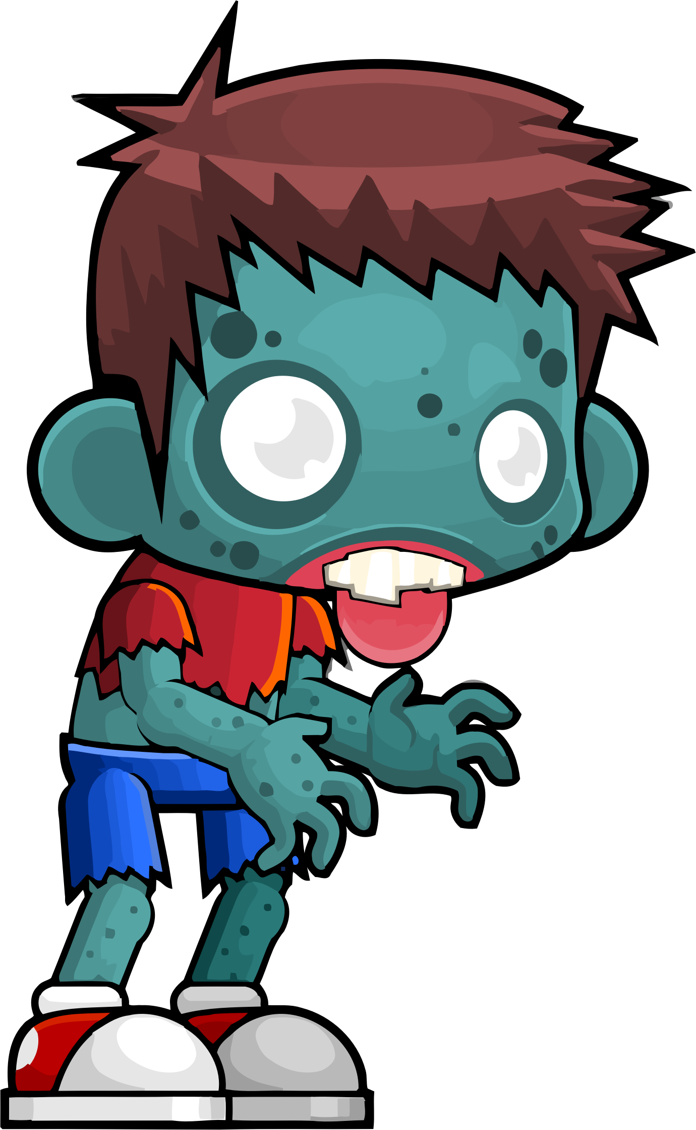 Zombie clipart zombie brain. Male icons png free