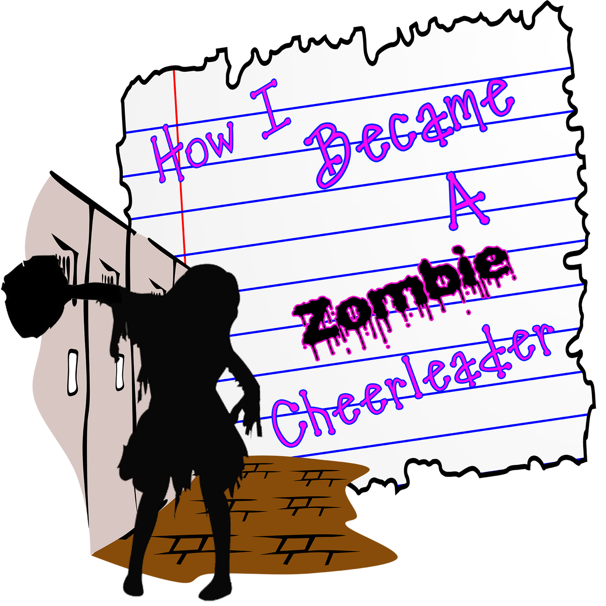 Zombie clipart zombie cheerleader.  collection of high