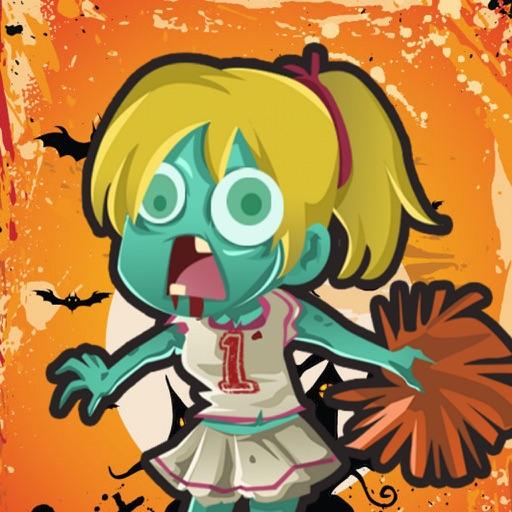 Zombie clipart zombie cheerleader. Run by andre tobisch