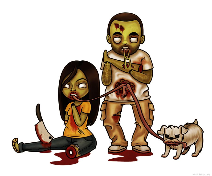 Carnaval doraemon giga no. Zombie clipart zombie family