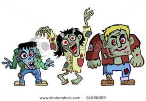 A picture . Zombie clipart zombie family