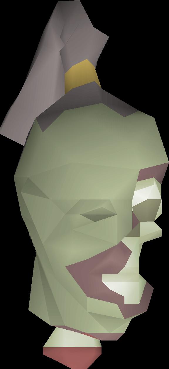 Treasure trails old school. Zombie clipart zombie head