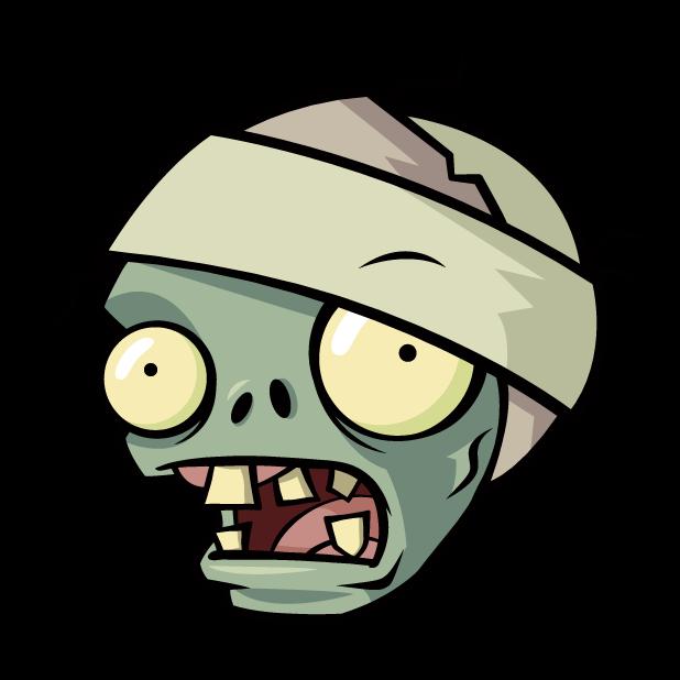 Image pvz zombiemummy x. Zombie clipart zombie head