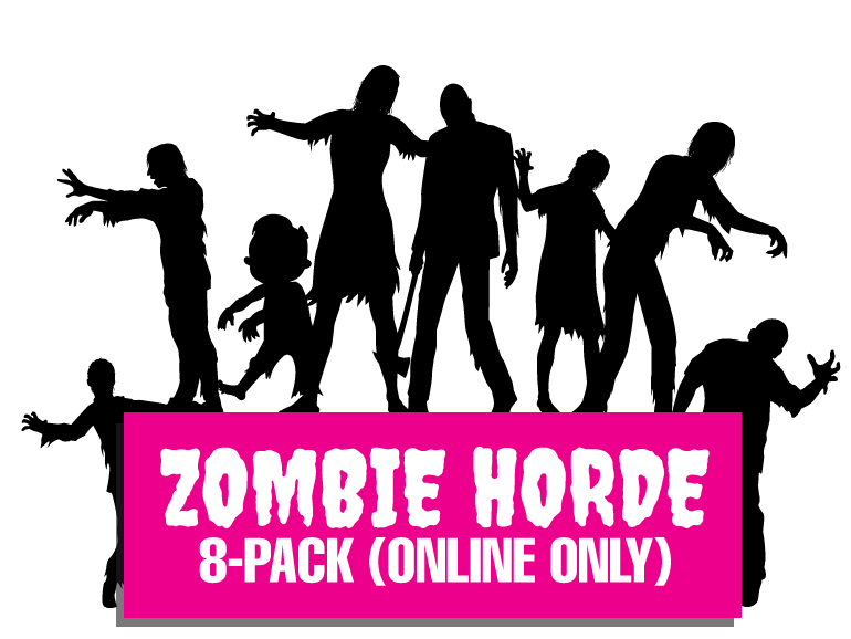 Pack clark county scaregrounds. Zombie clipart zombie horde