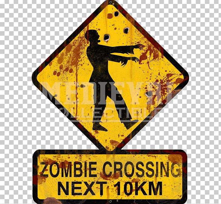 The survival guide warning. Zombie clipart zombie sign