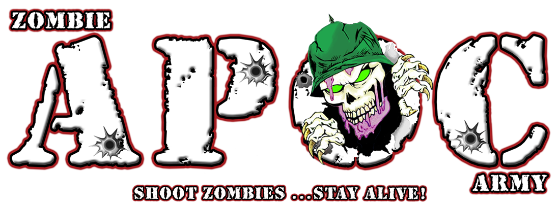 Zombie clipart zombie survival. Apoc army at the
