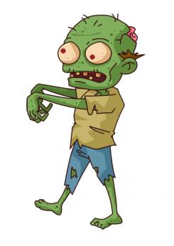 Zombie clipart zombie survival. Volunteer lock in apocalypse