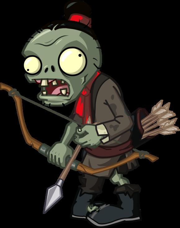 Image archer large png. Zombie clipart zombie woman