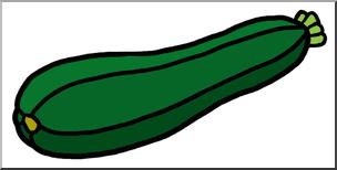 Clip art color i. Zucchini clipart